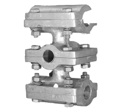 CT Stud Type Connector to Suit Twin Conductor(Through Type)