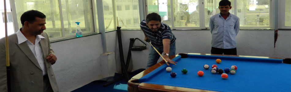 Pool Table Facility