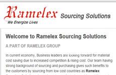 Ramelex Soursing Solutoons