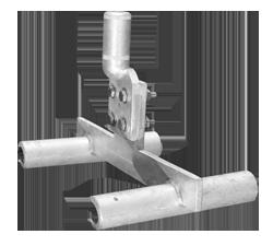 Twin to single Tee (140mm,225mm,330mm)